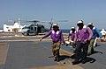 Stretcher-bearers onboard USNS Mercy (T-AH 19) hospital ship Defense.gov News Photo 050208-N-8629M-001.jpg