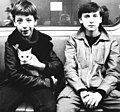 Subway, boys, cat Fortepan 74536.jpg