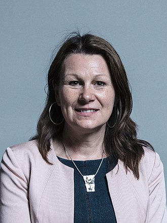 Shadow Secretary of State for Environment, Food and Rural Affairs - Image: Sue Hayman MP official portrait 2017 (3 to 4 crop)