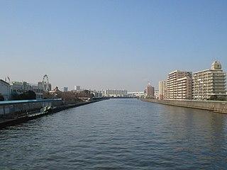 Sumida River Japanese river which flows through Tokyo