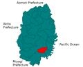 Sumita Iwate Map.png
