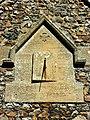 Sundial, St Peter ad Vincula church, Broad Hinton - geograph.org.uk - 552452.jpg