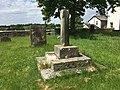 Sundial in graveyard, Ellel (1).jpg