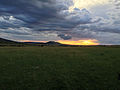 Sunset in the Maasai Mara (14003406221).jpg