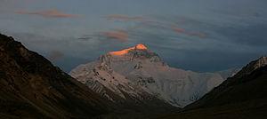 Adventure Consultants - Image: Sunset on Everest
