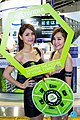 Super Micro Computer promotional models at Computex 20140606c.jpg