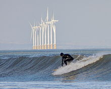 Surfing in Penny Hole - geograph.org.uk - 3853430.jpg