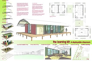 Open Architecture Network - Sustainable portable classroom design proposal