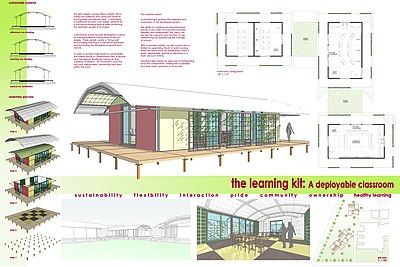 Sustainable Portable Classroom - The Learning Kit