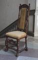 Svarvad stol, 1600-tal - Skoklosters slott - 103836.tif