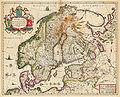 Svecia, Dania et Norvegia, Regna Europæ Septentrionalia.jpg