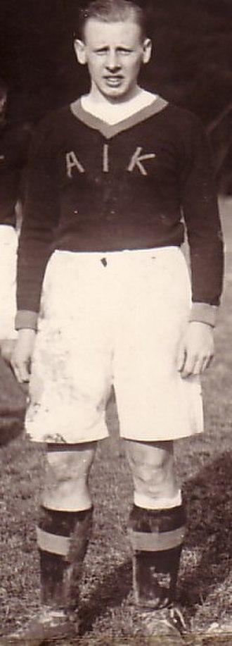 Sven Lindqvist (footballer) - Image: Sven Lindqvist(fotboll)