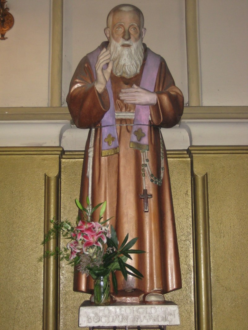 Sveti Leopold Bogdan Mandic Rijeka