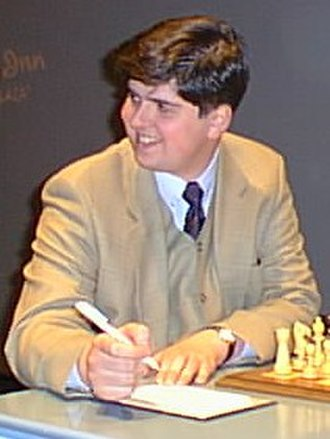 Peter Svidler - Svidler at Dortmund, June 1998