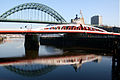 Swing Bridge, River Tyne - Two ways over..jpg