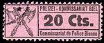 Switzerland Biel Bienne 1918 police revenue 20c - 29.jpg