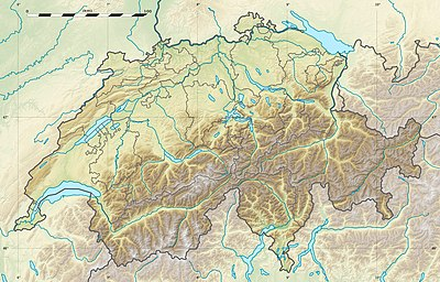 Location map Switzerland