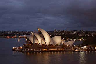 Bennelong Point - The Sydney Opera House, situated on Bennelong Point.
