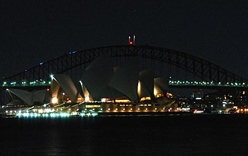 Sydney Harbour Bridge and S...