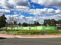 Sydney Metro Norwest Station worksite, August 2015.jpg