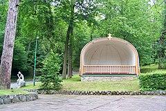 Muszla muzyczna w Parku Górnym