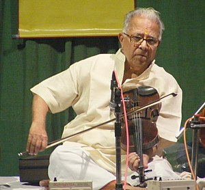 T. N. Krishnan - Krishnan performing at the Film and Television Institute of India, Pune, on 19 January 2010