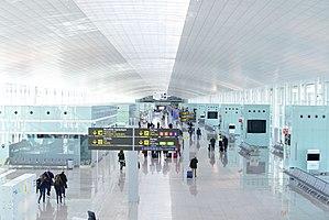 Barcelona–El Prat Airport - Terminal 1 interior