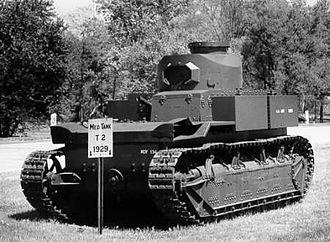 T2 tank - Image: T2 tank