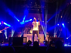 Thousand Foot Krutch - TFK in Minneapolis, Mill City Nights, 2014-10-08