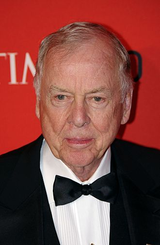 T. Boone Pickens - Pickens at the 2011 Time 100 gala