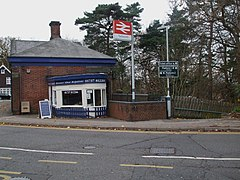 Tadworth station east entrance.JPG