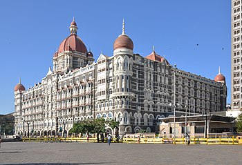 English: The Taj Mahal Palace in Mumbai, India.