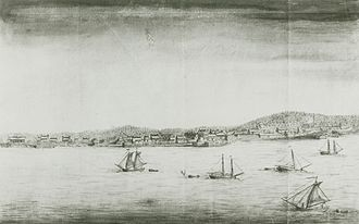 Annapolis Royal - Annapolis Royal by John Hamilton (c. 1753)