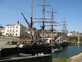 Tall Ships in Charlestown Harbour - geograph.org.uk - 1207824.jpg