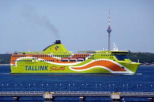 MS Pascal Lota - Image: Tallink Superstar Tallinn