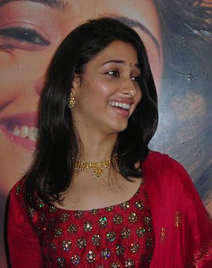 Tamannaah - Tamannaah in October 2008 at Chennai before the release of Padikkadavan