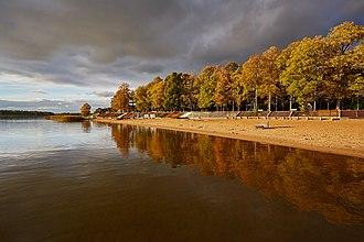 Võru - Image: Tamula järv 2013 09