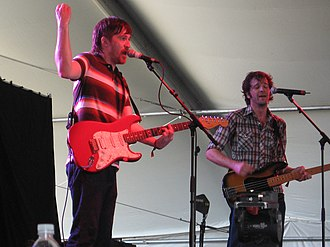 Tapes 'n Tapes - Tapes 'n Tapes performing at the Coachella Valley Music and Arts Festival in 2007
