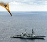 Targetship ex-USS Connolly (DD979)