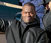 Tarvaris Jackson at 2014 Seahawks Super Bowl parade.jpg