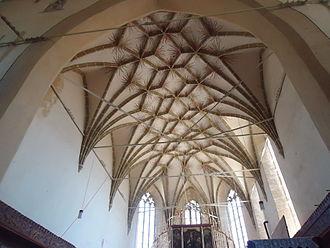 Biertan fortified church - Nave ceiling