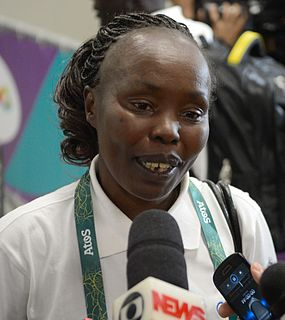 Tegla Loroupe Kenyan long-distance runner