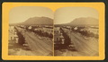 Tejon Street, Colorado Springs, Colorado, looking south, with Cheyenne Mountain in the distance, by Gurnsey, B. H. (Byron H.), 1833-1880 2.png