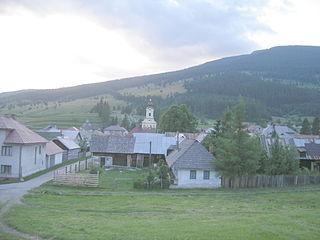 Telgárt Village in Slovakia