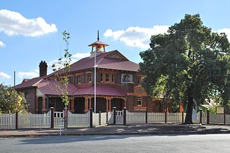 Temora, New South Wales - Temora Court House, constructed in 1902