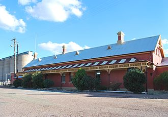 Temora, New South Wales - Temora railway station