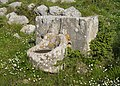 Temple of Apollo Ptoon, a fountain, and nothing else, Boeotia, central Greece.jpg