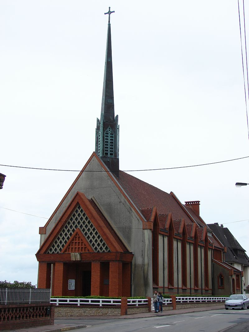 Temple protestant, Houlgate, Lower Normandy, France - panoramio.jpg