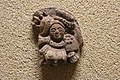 Terracotta plaque and seal, Tilpi and Dhosa, South 24 Parganas- Early history gallery- State Archaeological Museum- 1, Satyen Roy Rd, Auddy Bagan Basti, Behala, Kolkata, West Bengal 700034- First floor 03.jpg