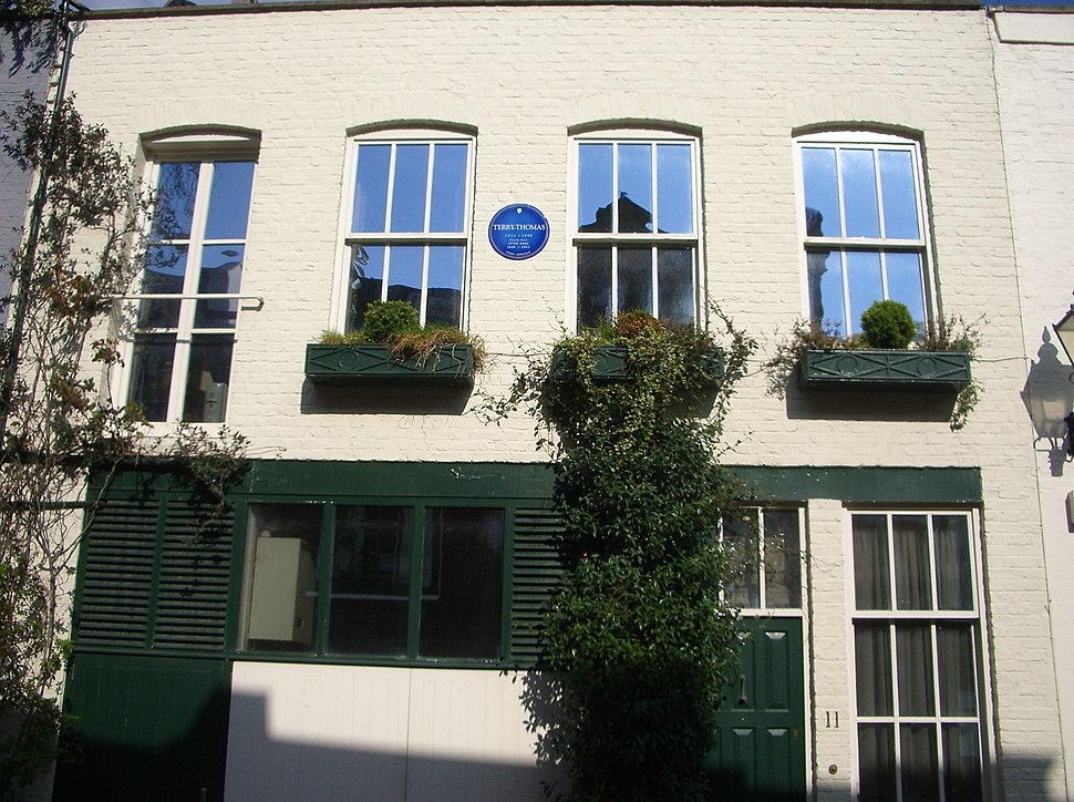 Terry-Thomas' ex-house, London
